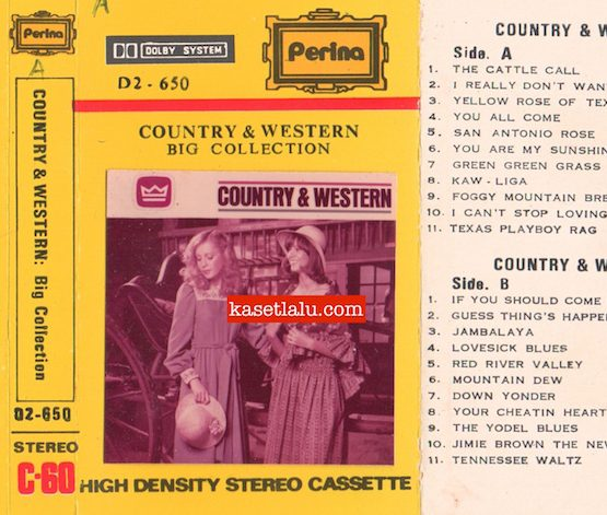PERINA D2-650 - COUNTRY & WESTERN BIG COLLECTION