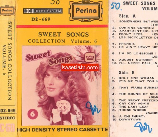 PERINA D2-669 - SWEET SONGS COLKECTION VOLUME 6