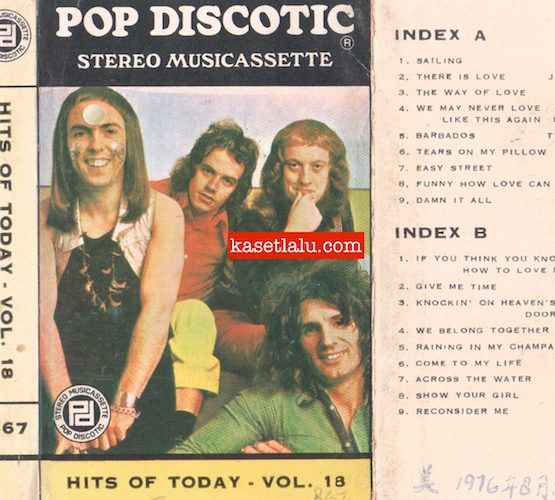 POP DISCOTIC 867 - HITS OF TODAY VOLUME 18