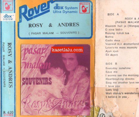 ROVER R 620 - ROSY & ANDRES PASAR MALAM SOUVENIRS