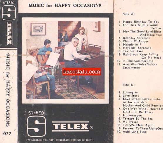 TELEX 077 - MUSIC FOR HAPPY OCCASIONS