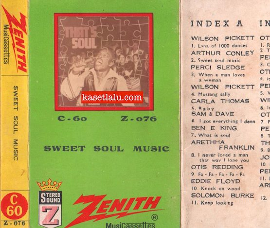 ZENITH Z-076 - SWEET SOUL MUSIC