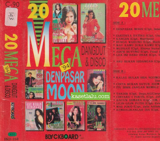 20 MEGA DANGDUT & DISCO '94 - DENPASAR MOON