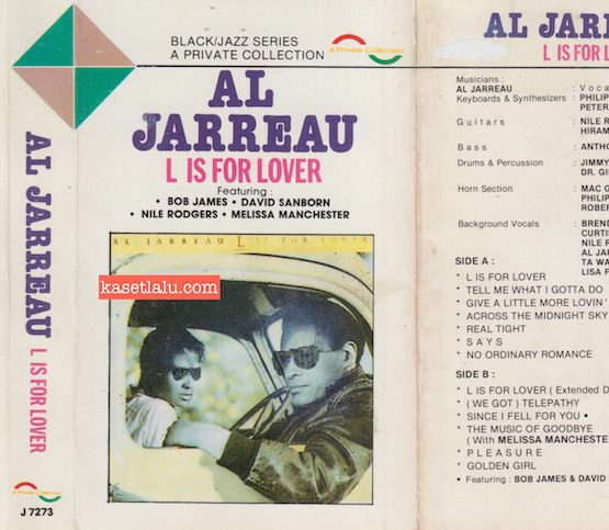 A PRIVATE COLLECTION J 7273 - AL JARREAU - L IS FOR LOVER