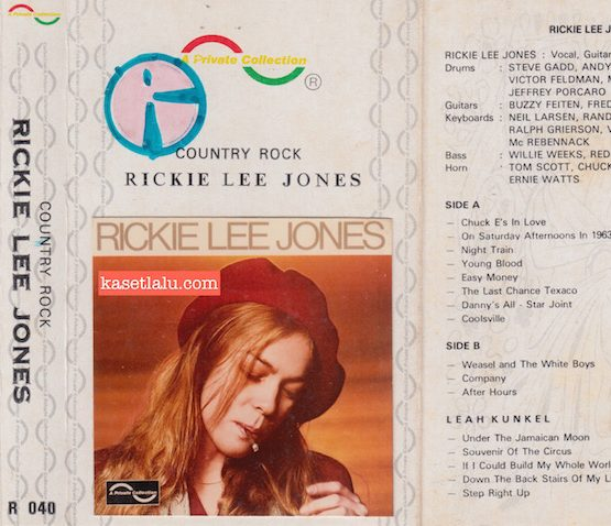 A PRIVATE COLLECTION R 040 - COUNTRY ROCK RICKIE LEE JONES