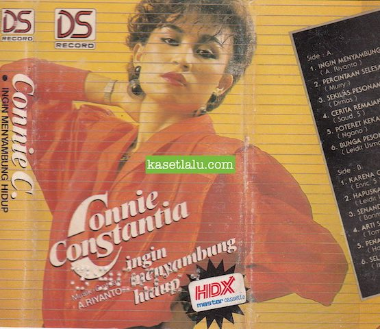 Connie Constantia - Ingin Menyambung Hidup (MUSIK:CIPT. A. RIYANTO)