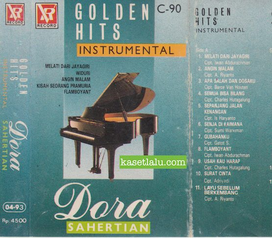 DORA SAHERTIAN - GOLDEN HITS INSTRUMENTAL
