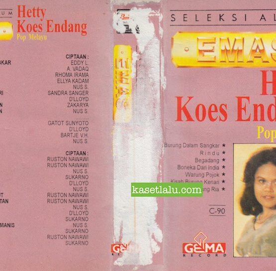 HETTY KOES ENDANG - SELEKSI ALBUM EMAS POP MELAYU