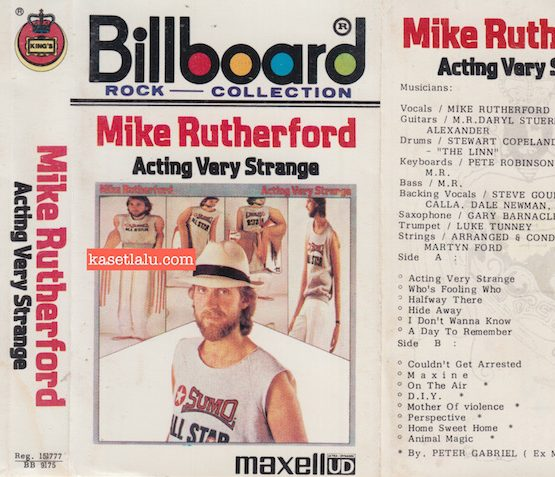 KING'S BB 9175 - MIKE RUTHERFORD - ACTING VERY STRANGE