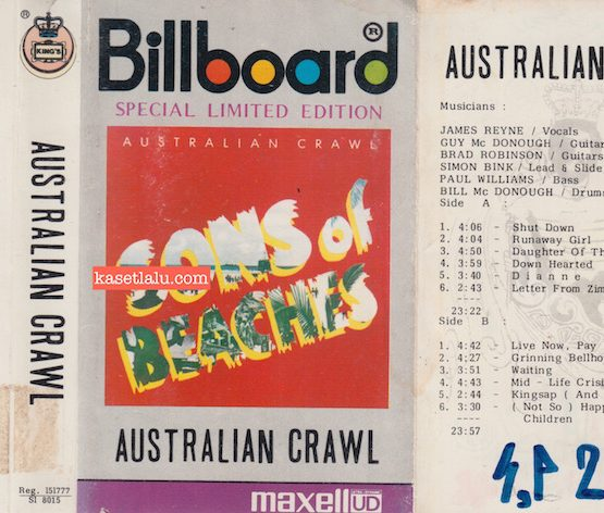 KING'S SI 8015 - AUSTRALIAN CRAWL - SONS OF BEACHES