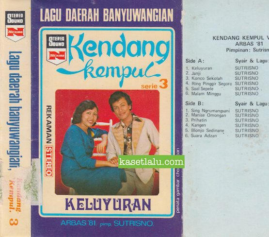 LAGU DAERAH BANYUWANGIAN - KENDANG KEMPUL SERIE 3 ARBAS '81 PIMP. SUTRISNO