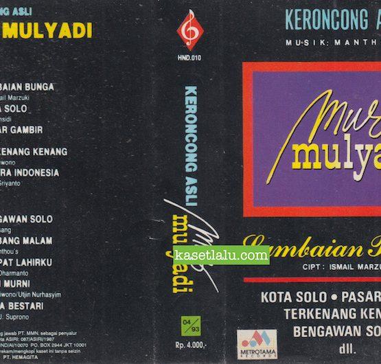 MUS MULYADI - KERONCONG ASLI LAMBAIAN BUNGA (MUSIK MANTHOU'S)