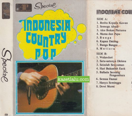 SPECIAL INDONESIA COUNTRY POP