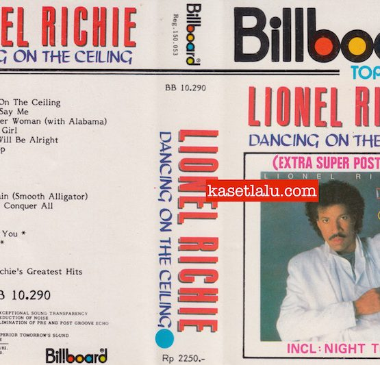 BILLBOARD BB 10.290 - LIONEL RICHIE - DANCING ON THE CEILING