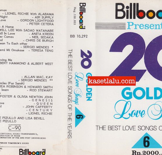 BILLBOARD BB 10.292 - 20 GOLDEN LOVE SONGS - THE BEST LOVE SONGS OF THE YEARS 6