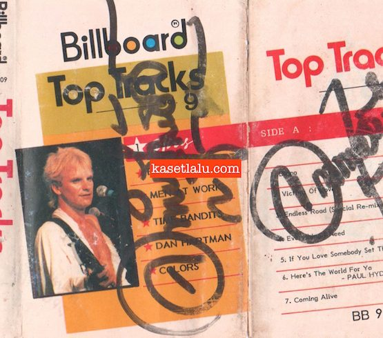 BILLBOARD BB 9809 - TOP TRACKS VOL. 9.