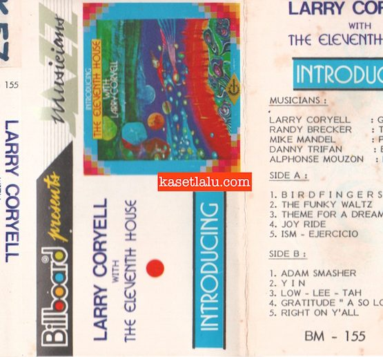 BILLBOARD BM 155 - LARRY CORYELL WITH THE ELEVENTH HOUSE