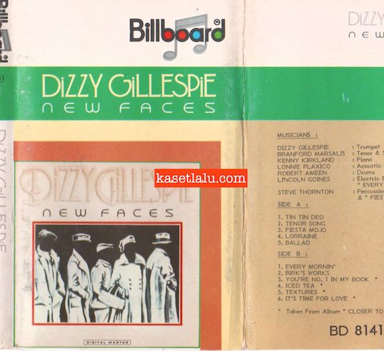 BILLBOARD - DIZZY GILLESPIE - NEW FACES