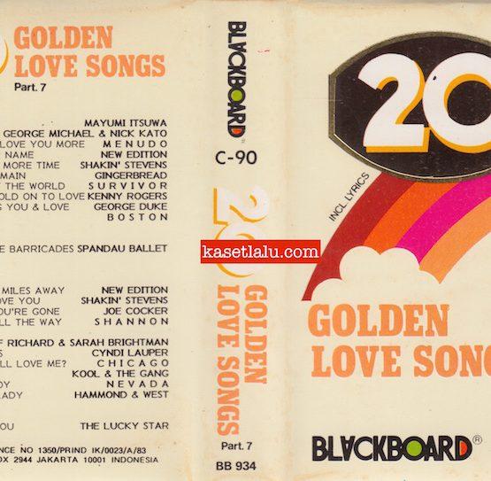BLACKBOARD BB 934 - 20 GOLDEN LOVE SONGS PART. 7