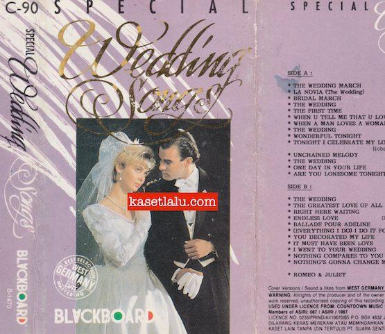 BLACKBOARD - SPECIAL WEDDING SONGS