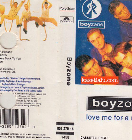 BOYZONE - LOVE ME FOR A REASON