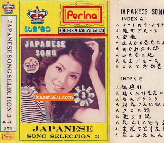PERINA KT 172 - JAPANESE SONG SELECTION 3