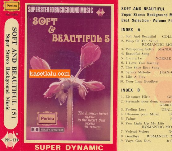 PERINA PH 171 - SOFT AND BEAUTIFUL (5) SUPER STEREO BACKGROUND MUSIC