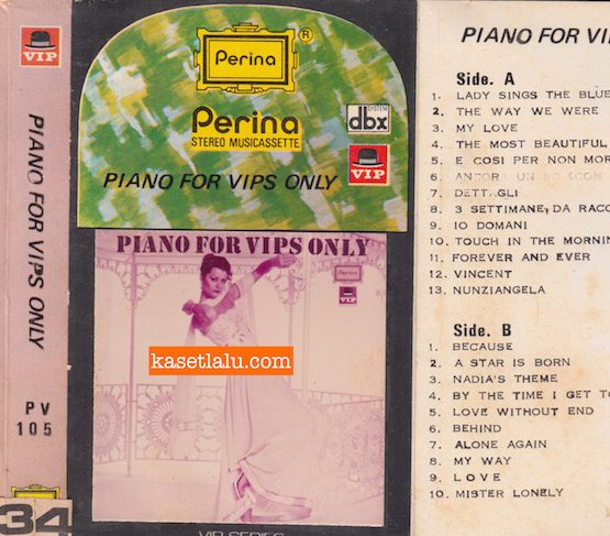 PERINA PV 105 - PIANO FOR VIPS ONLY