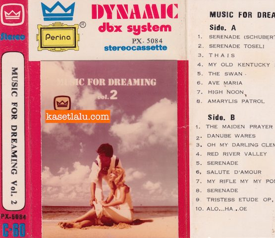 PERINA PX-5084 - MUSIC FOR DREAMING VOL. 2