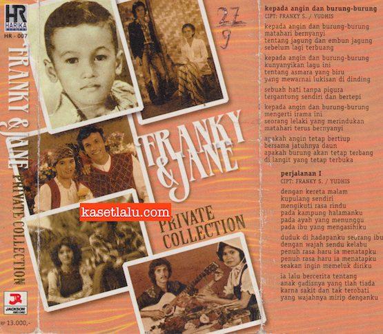 FRANKY & JANE SAHILATUA - PRIVATE COLLECTION