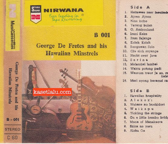 GEORGE DE FRETES AND HIS HAWAIIAN MINSTRELS