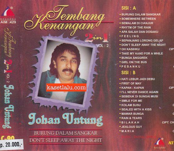 JOHAN UNTUNG - TEMBANG KENANGAN 2 IN 1 VOL. 2