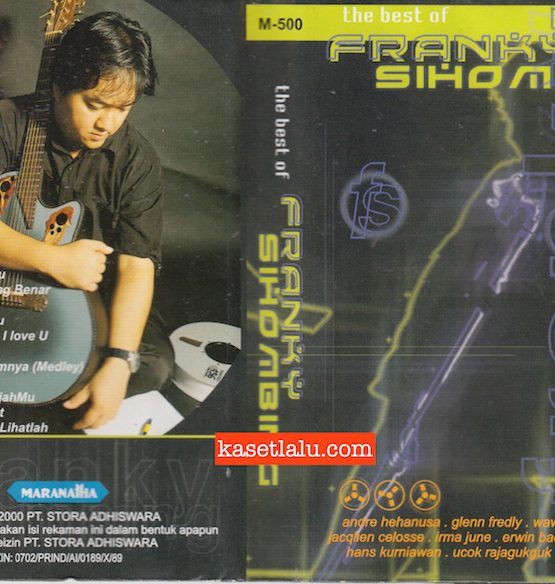 M-500 - FRANKY SIHOMBING - THE BEST OF