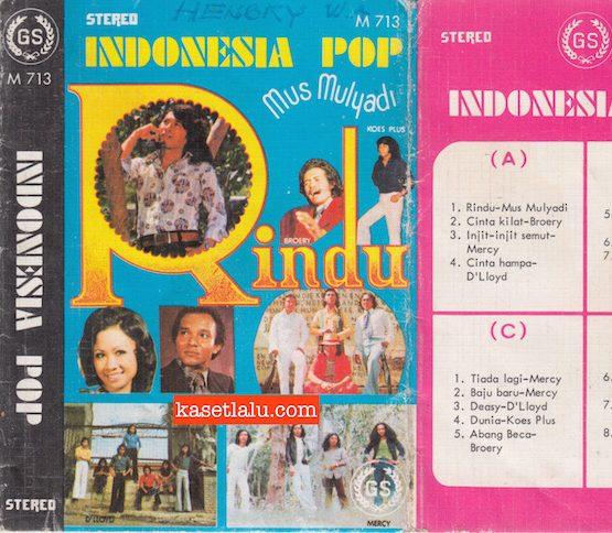 M 713 - INDONESIA POP - RINDU (MUS MULYADI)