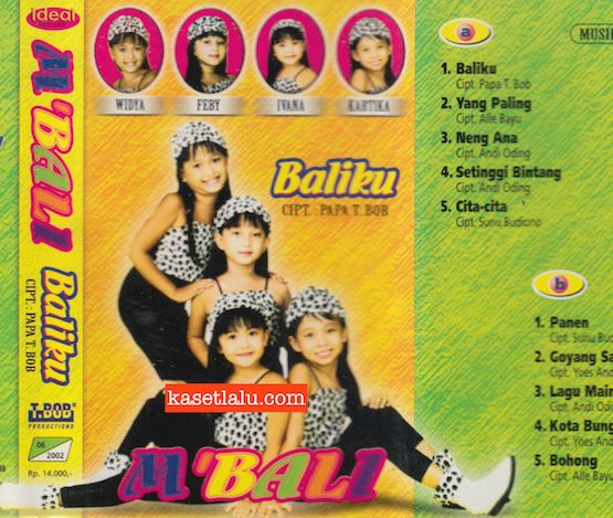 M'BALI - BALIKU (MUSIK JOSS HOKY)