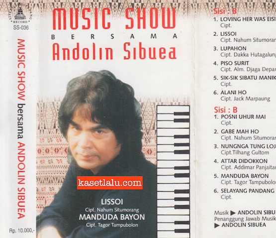 MUSIC SHOW BERSAMA ANDOLIN SIBUEA - LISSOI