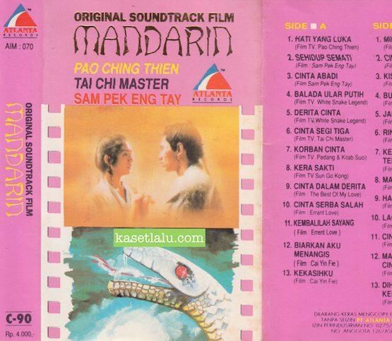 ORIGINAL SOUNDTRACK FILM MANDARIN - PAO CHING THIEN