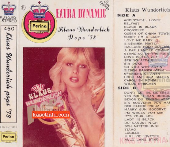 PERINA K 190 ED - KLAUS WUNDERLICH POPS '78