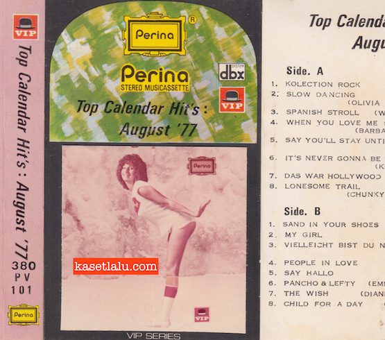 PERINA VIP PV 101 - TOP CALENDAR HIT'S AUGUST '77
