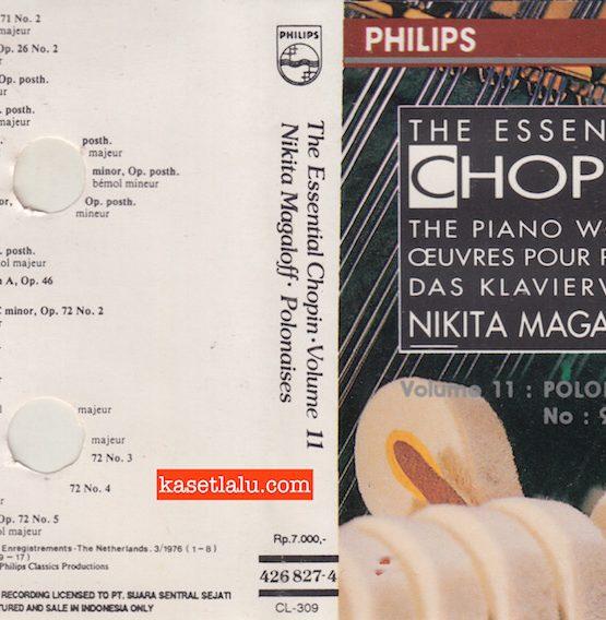 PHILIPS CL-309 - THE ESSENTIAL CHOPIN VOLUME 11 NIKITA MAGALOFF POLONAISES