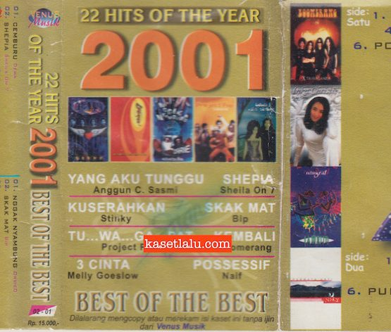 22 HITS OF THE YEAR 2001 BEST OF THE BEST