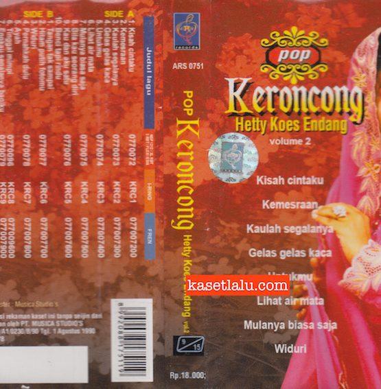 ARS 0571 - HETTY KOES ENDANG - POP KERONCONG VOLUME 2