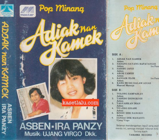 ASBEN & IRA PANZY (MUSIK UJANG VIRGO GKK) - POP MINANG ADIAK NAN KAMEK