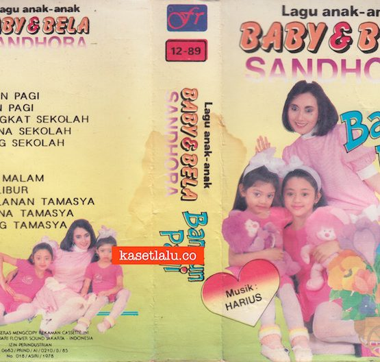 BABY & BELA SANDHORA - LAGU ANAK ANAK - BANGUN PAGI