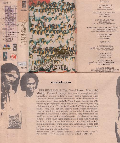 MSC 8007 - Artis Artis Musica - Terimakasih Indonesia